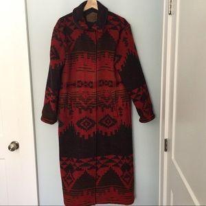 *HOST PICK* Vintage Woolrich Navajo blanket coat